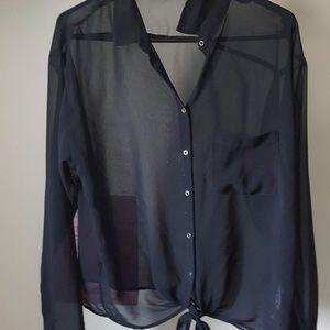 Large Chiffon Shirt from Garage